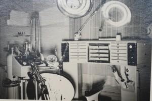 Zahnarztpraxis 1949